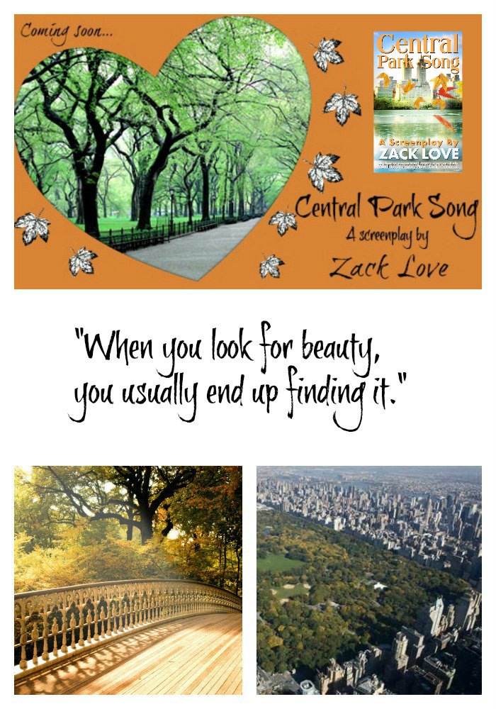 111 Central Park Song a screenplay by Zack Love